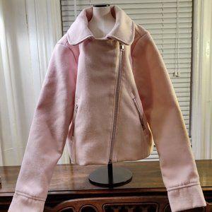 3/$30 Gymboree faux Wool Jacket with Zipper Detail